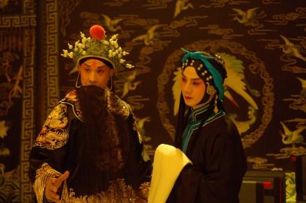 劇照:〈汾河灣〉,十三燕與梅蘨??