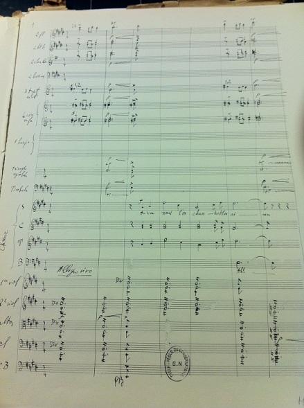 Messiaen choeur