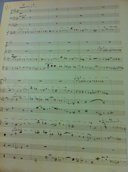 Debussy fugue